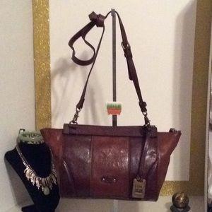 Frye Italian leather Crossbody Handbag